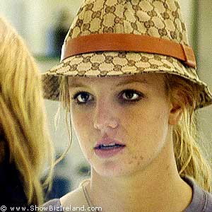 britney spears makeup