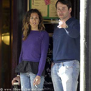 sarah jessica parker and matthew broderick wedding