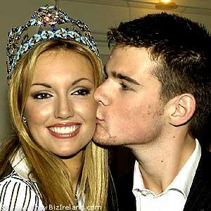 Showbiz ireland miss world 2003 rosanna davison comes home photos thecheapjerseys Images
