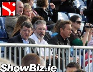 Gerry Adams No Glasses