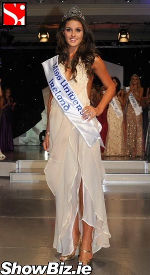 Lynn Kelly ShowBiz Ireland Lynn Kelly Miss Universe Ireland 2008
