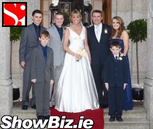 showbiz ireland aww were forecasting luurve